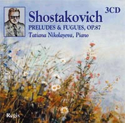 24の前奏曲とフーガ ニコラーエワ(1987)(3CD)