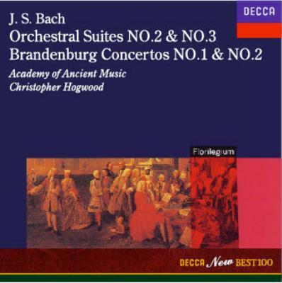 J.S.Bach:Orchestral Suites No.2 & No.3 Brandenburg Concertos No.1&No.2