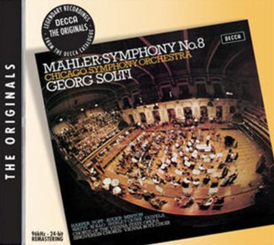 マーラー:交響曲第8番《千人の交響曲》 サー・ゲオルグ・ショルティ/シカゴ交響楽団