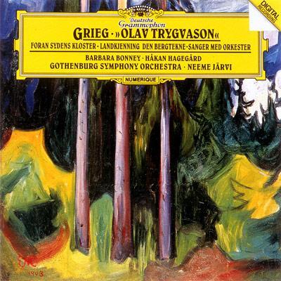 グリーグ:声楽作品集 ネーメ・ヤルヴィ/エーテボリ交響楽団