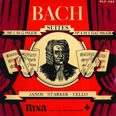 無伴奏チェロ組曲第1番、第4番 シュタルケル