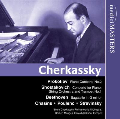 ピアノ協奏曲第2番、他 チェルカ...