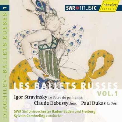 春の祭典、他 カンブルラン&南西ドイツ放送交響楽団