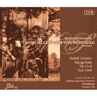 Die Meistersinger von Nurnberg -Highlights : Bamberger / Frankfurt Opera, Gonszar, Liebl, etc (1956 mono)(2CD)