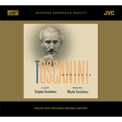 Elgar Brahms Toscanini NBC Symphony Enigma Variations Op 36 Variations On A Theme By Haydn Op 56a
