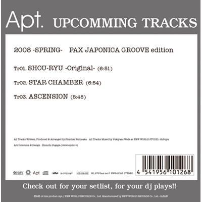 Apt.UPCOMMING TRACKS 2008 -SPRING-