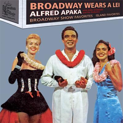 Broadway Wears A Lei