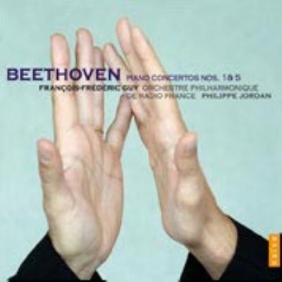 ピアノ協奏曲第1番、第5番『皇帝』 ギィ、フィリップ・ジョルダン