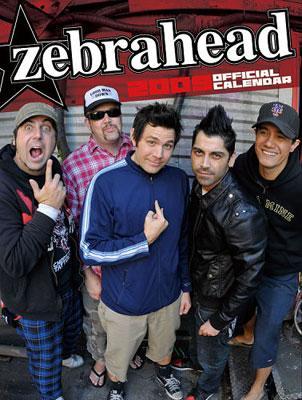 Zebrahead: カレンダー