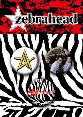Zebrahead: 缶バッチ(3個入り)