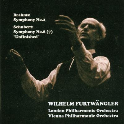 ブラームス:交響曲第2番(ロンドン・フィル)、シューベルト:未完成(ウィーン・フィル) フルトヴェングラー指揮