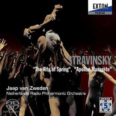 春の祭典、ミューズを司るアポロ ズヴェーデン&オランダ放送フィル(マルチチャンネルSACD)