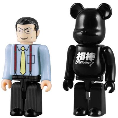 杉下右京 KUBRICK & BE@RBRICK SET