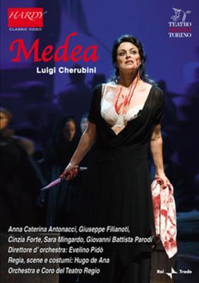 『メデア』全曲 デ・アナ演出、ピド&トリノ王立劇場、アントナッチ、フィリアノーティ、他(2008 ステレオ)