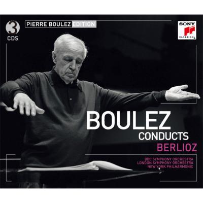 幻想交響曲、レリオ、序曲集、歌曲集 ブーレーズ&ロンドン響、ニューヨーク・フィル、BBC響、ミントン、他(3CD)