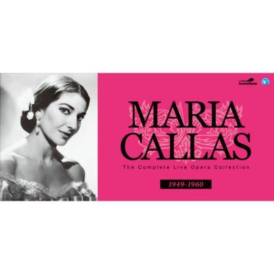 マリア・カラス コンプリート・ライヴ・オペラ・コレクション(103CD)