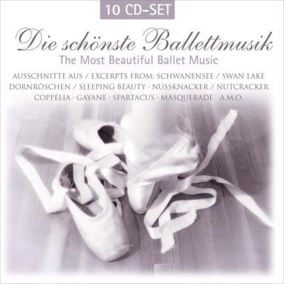 バレエ音楽名曲集(チャイコフスキー、ストラヴィンスキー、ラヴェル、他) アンセルメ、バーンスタイン、モントゥー、他(10CD)