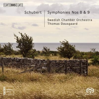 交響曲第8番『未完成』、第9番『グレート』 ダウスゴー&スウェーデン室内管弦楽団