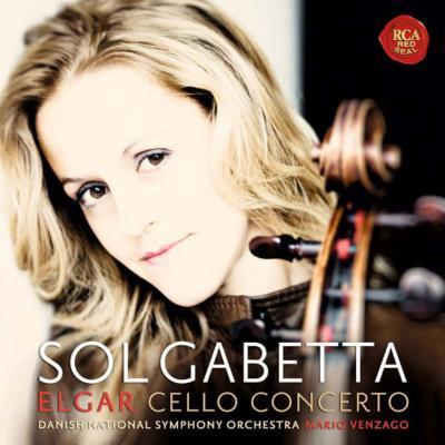 エルガー:チェロ協奏曲、愛の挨拶、ドヴォルザーク:森の静けさ、レスピーギ:アダージョと変奏、他 ガベッタ、ヴェンツァーゴ&デンマーク国立放送響(+CD限定盤)