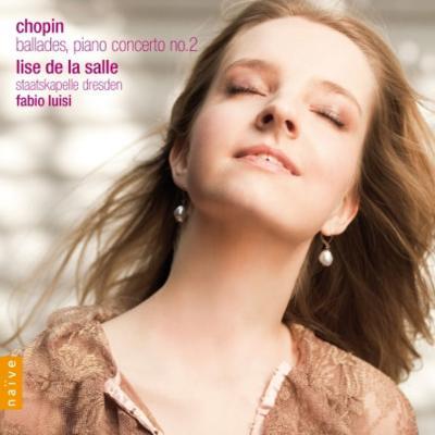 Piano Concerto No, 2, Scherzos : Lise De La Salle(P)Luisi / Staatskapelle Dresden