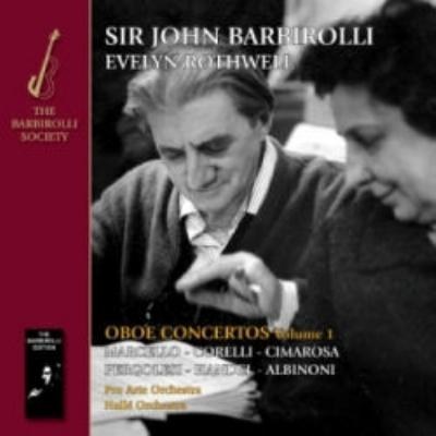 Oboe Concertos Vol.1 : Rothwell(Ob)Barbirolli / Pro Arte O, Halle O