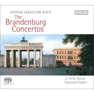 Brandenburg Concertos Nos, 1-6, : S.Kuijken / La Petite Bande (2009)(2SACD)