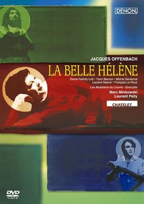 『美しきエレーヌ』全曲 ペリー演出、ミンコフスキ&ルーヴル宮音楽隊、ロット、セネシャル、他(2000 ステレオ)