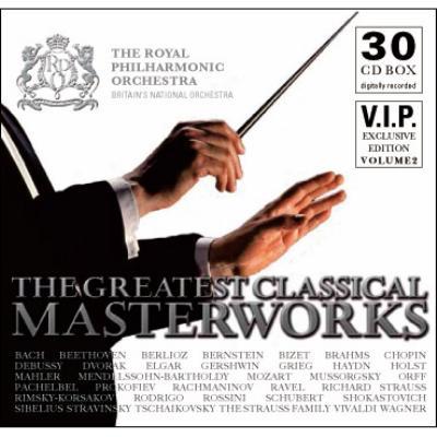 『グレート・クラシカル・マスターワークス2』 ロイヤル・フィル、ヘルビヒ、シモノフ、O.シュミット、他(30CD)