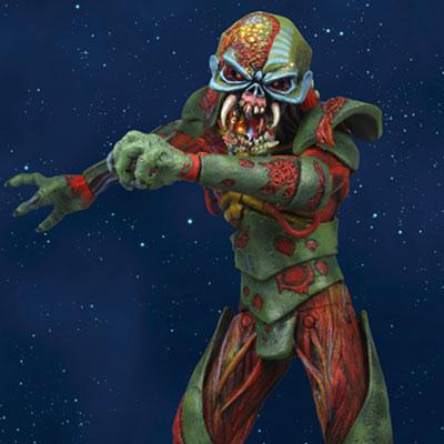 Iron Maiden -Eddie Action Figure: Final Frontier