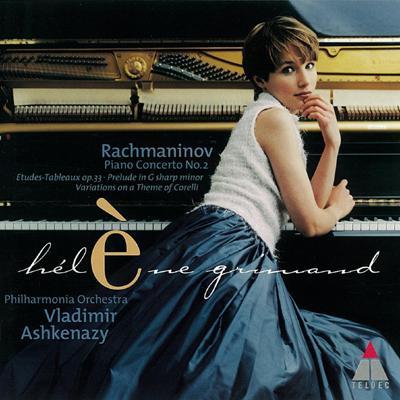 ピアノ協奏曲第2番、『音の絵』から エレーヌ・グリモー(p)、アシュケナージ&フィルハーモニア管弦楽団