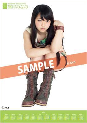 Minami Minegishi / 2012 Poster Type Calendar