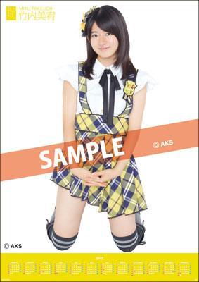 Miyu Takeuchi / 2012 Poster Type Calendar