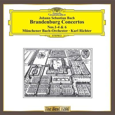 Brandenburg Concerto, 1, 2, 3, 4, 6, : K.richter / Munich Bach O