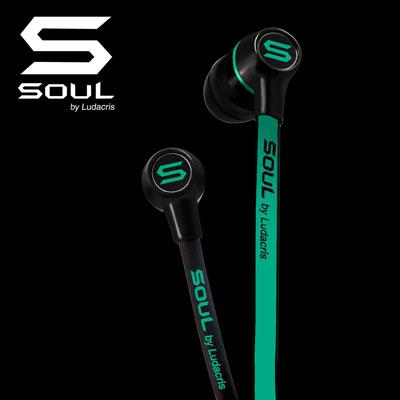 SOUL By Ludacris: SL49 / NB (Black & Green)