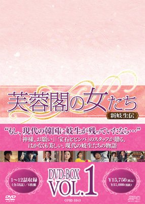 芙蓉閣の女たち〜新妓生伝DVD-BOX1