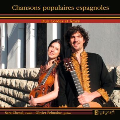 Chansons Populaires Espagnoles : Duo Cordes et Ames(Vn & G)