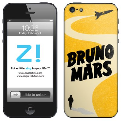 MusicSkins / Bruno Mars ,Rocket (iPhone5用)