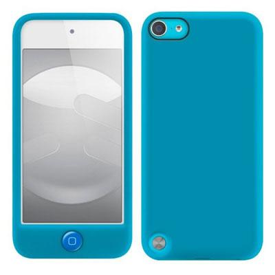 Snugg iPod Touch 6G5G Rubber Case amp Blue Silicone for