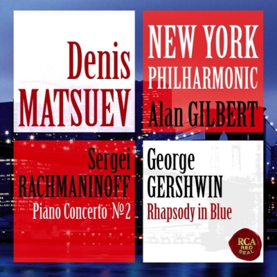 Rachmaninov piano concerto no 2 gershwin rhapsody in blue for Online shopping sites in new york