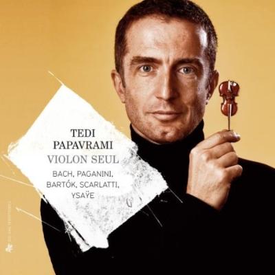 『無伴奏ヴァイオリン作品集〜バッハ、バルトーク、パガニーニ、スカルラッティ』 パパヴラミ(6CD)