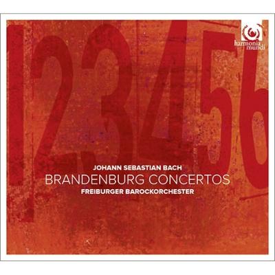 ブランデンブルク協奏曲全曲 フライブルク・バロック・オーケストラ(2CD)(日本語解説付)