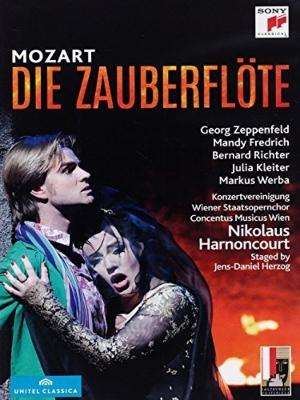 『魔笛』全曲 J−D.ヘルツォーク演出、アーノンクール&ウィーン・コンツェントゥス・ムジクス、D.リヒター、クライター、他(2012 ステレオ)(2DVD)
