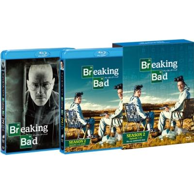 ブレイキング・バッド SEASON 2 COMPLETE BOX(5枚組)