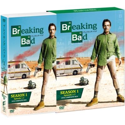 ブレイキング・バッド SEASON 1 COMPLETE BOX(4枚組)