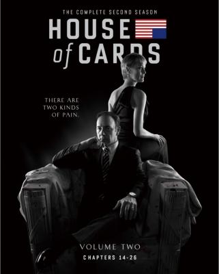 ハウス・オブ・カード 野望の階段 SEASON 2 Blu-ray Complete Package <デヴィッド・フィンチャー完全監修パッケージ仕様>