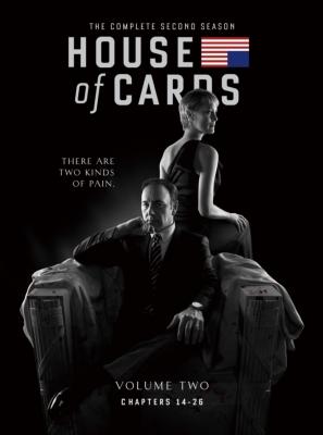 ハウス・オブ・カード 野望の階段 SEASON 2 DVD Complete Package <デヴィッド・フィンチャー完全監修パッケージ仕様>
