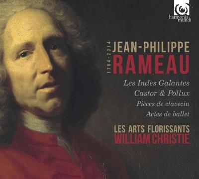 『優雅なインドの国々』全曲、『カストールとポリュックス』全曲、『ピュグマリオン』、『アナクレオン』、他 クリスティ&レザール・フロリサン、他(10CD)