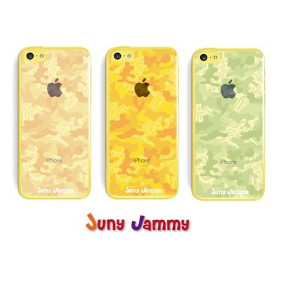 iPhone5cケース オレンジカモフラージュ 淳士プロデュースブランド/Juny Jammy【Loppi&HMV限定特典】