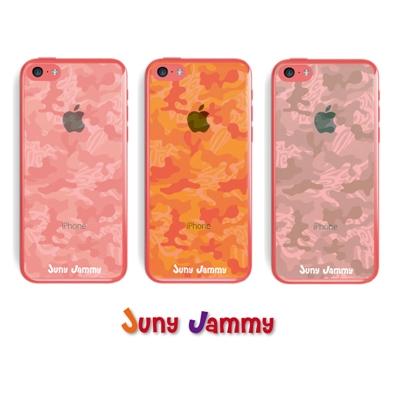 iPhone5cケース ピンクオパールカモフラージュ  淳士プロデュースブランド/Juny Jammy【Loppi&HMV限定特典】