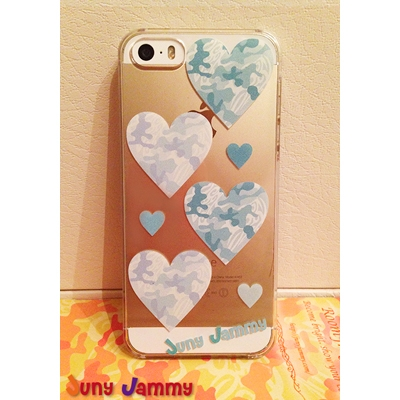 iPhone5&5sケース  エメラルドカモフラージュ 淳士プロデュースブランド/Juny Jammy【Loppi&HMV限定特典】